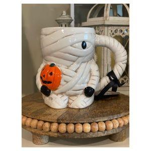 Halloween Mummy With Pumpkin 🎃